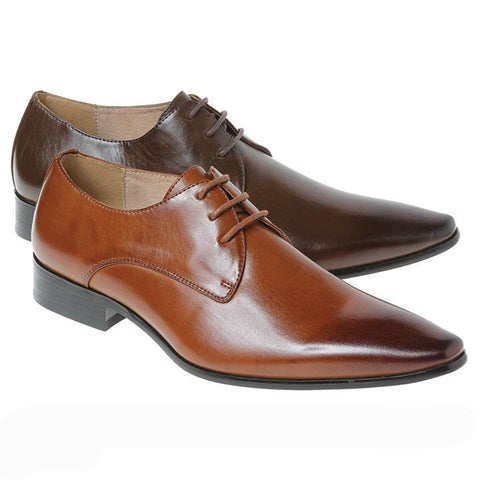 David Pointed Toe Lace-up Derby Majestic