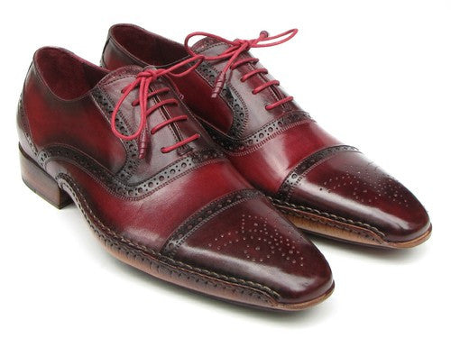 CAPTOE NAVY BLUE/BLACK/BROWN/RED/GREEN HAND PAINTED OXFORDS