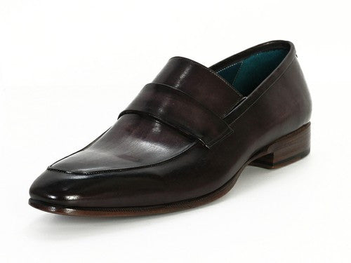 Black & Gray Hand Painted Loafer Paul Parkman
