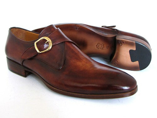 Brown & Camel Monkstrap Paul Parkman