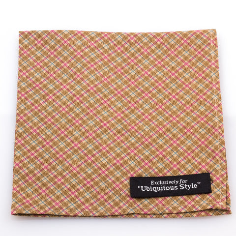 Multicolor Striped Pocket Square