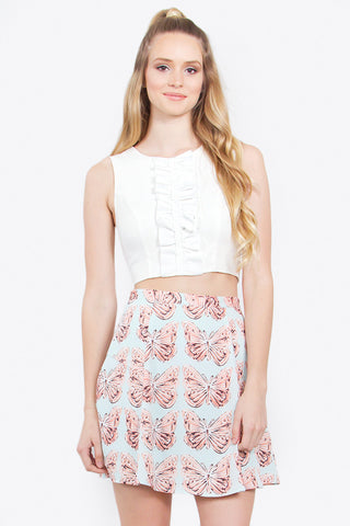 BELLA BOW TIE TOP