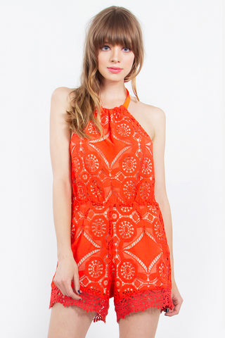 BACK  STAGE ROMPER