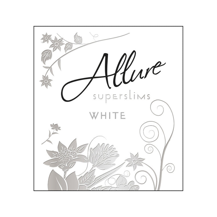 Allure White Super Slims 100 6,00 Euro (10x40)