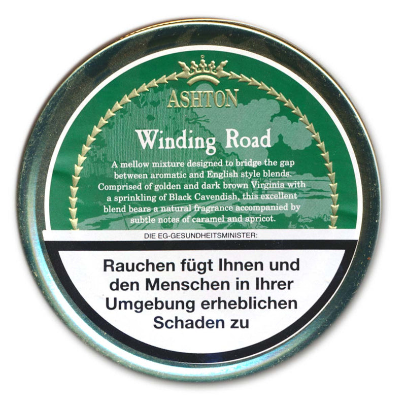Ashton Pipe Tobacco Winding Road