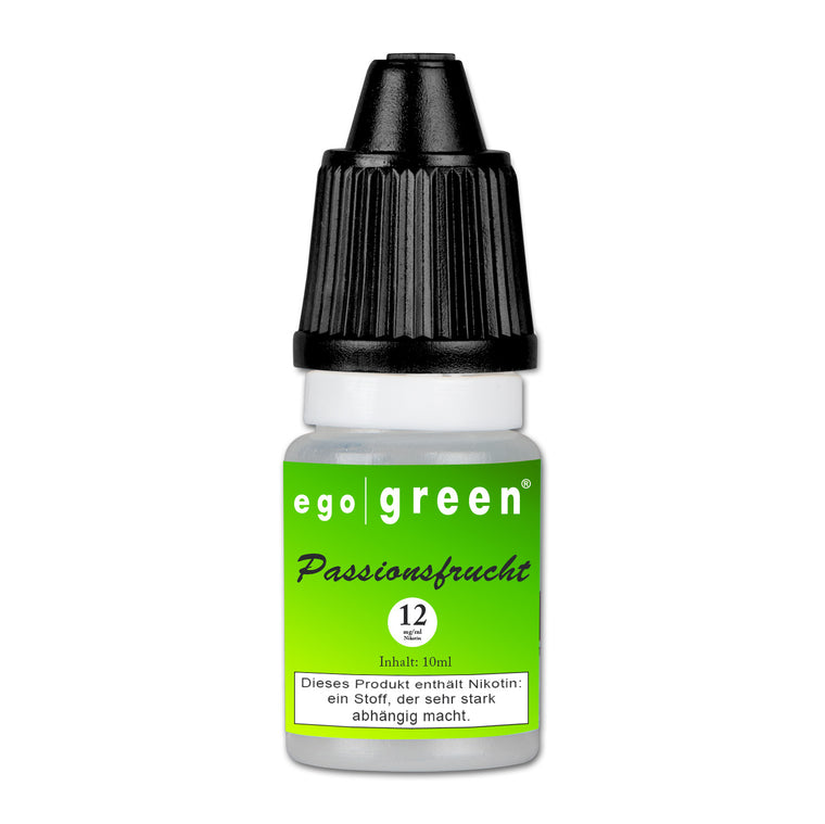 E-Liquid EGO GREEN Passionsfrucht 12 mg