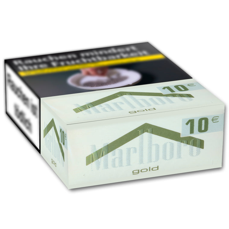 MARLBORO Gold 3XL-Box 10,00 Euro  (8x33)