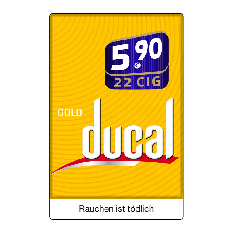 Ducal Gold Big Pack 5,95 Euro (8x22)