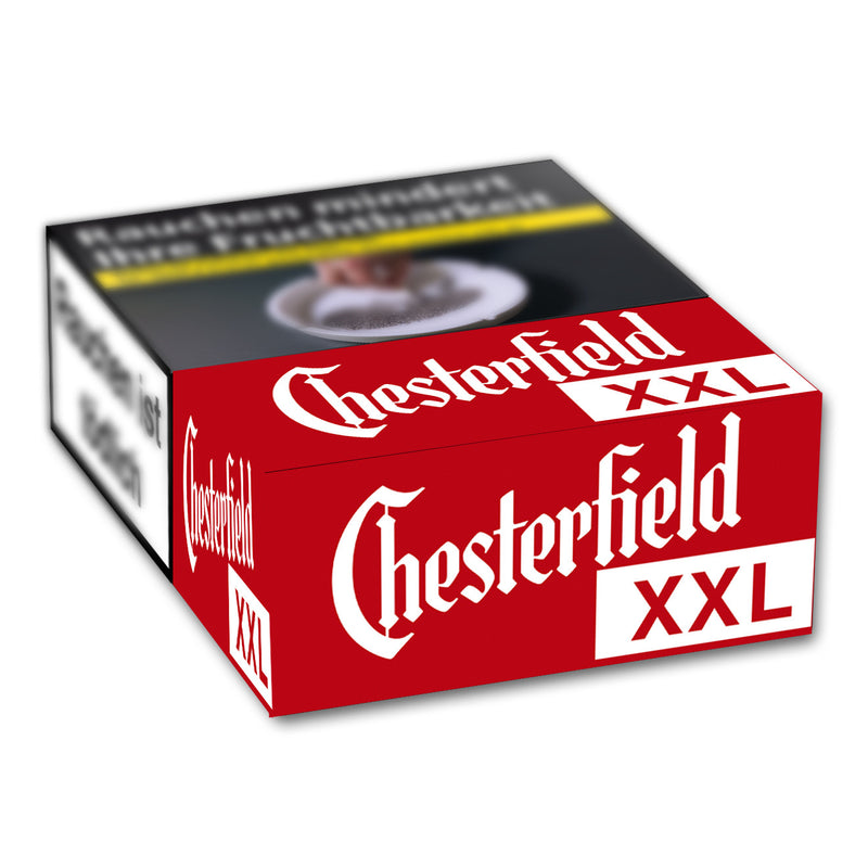 CHESTERFIELD Red XL-Box 7,00 Euro (8x23)