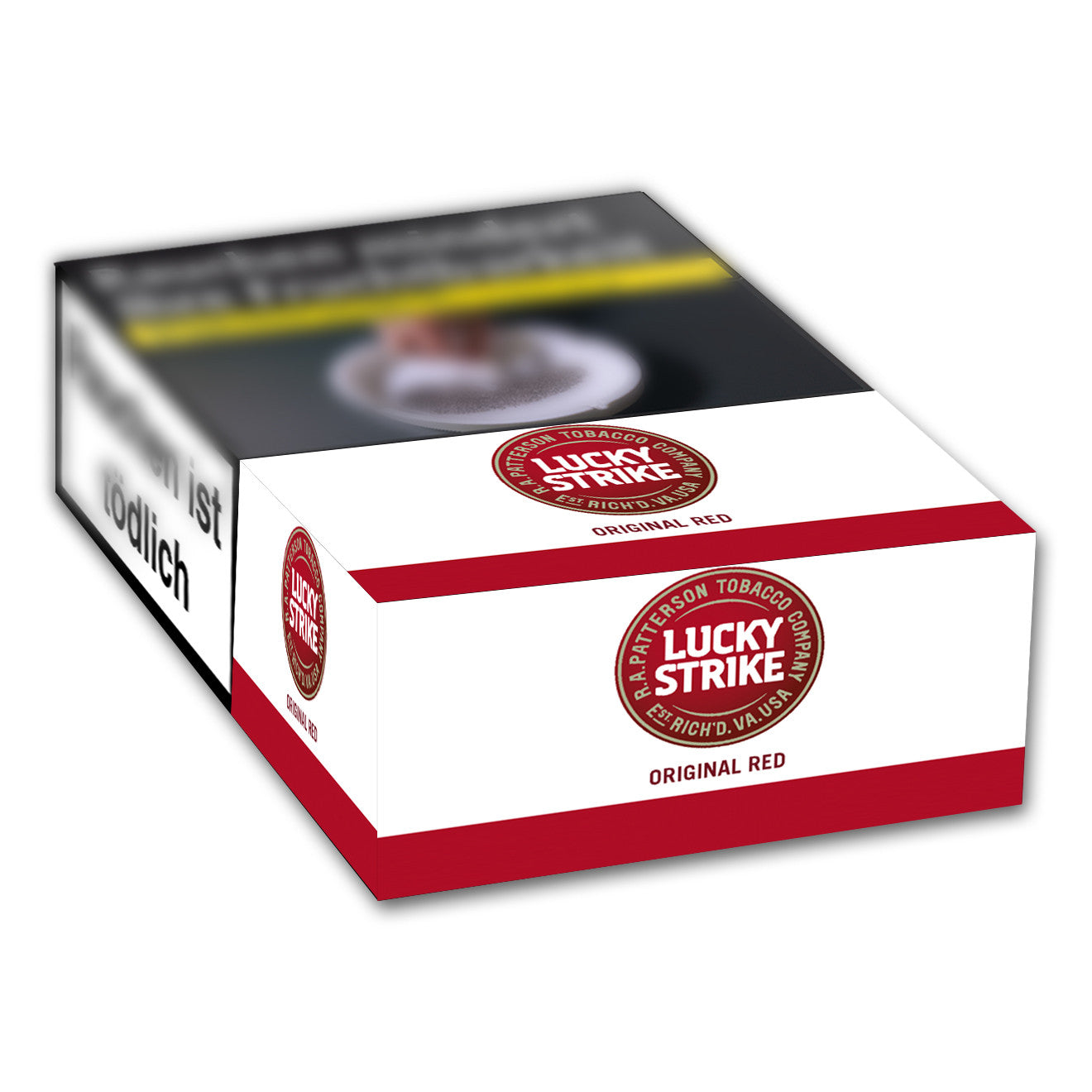 LUCKY STRIKE Original Red Automatenpackung 7,00 Eur (20x21)