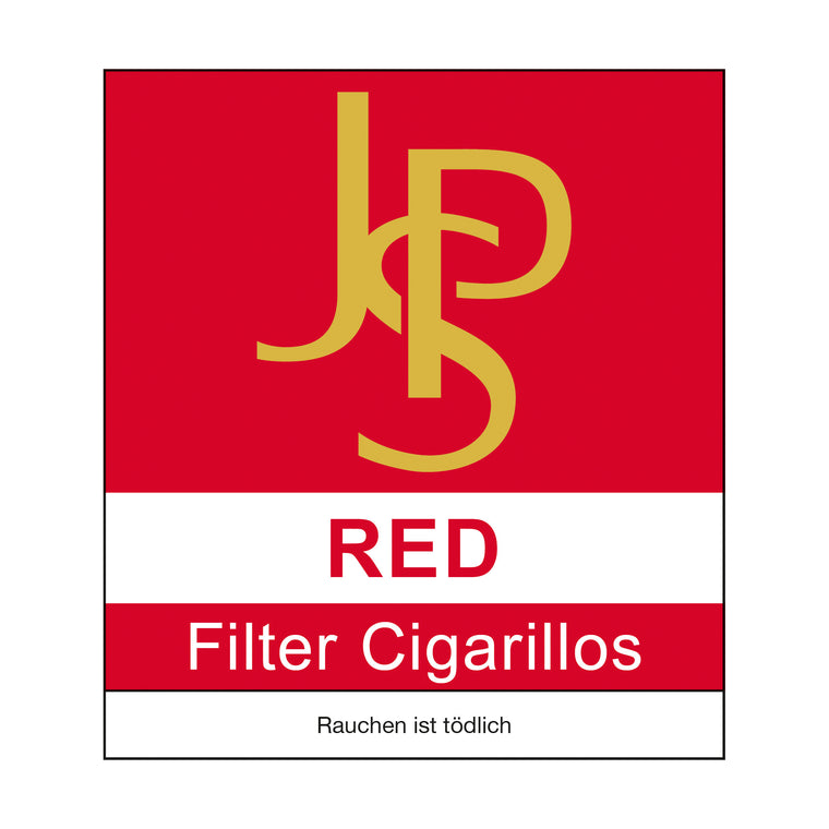 JPS Red Filter Cigarillos Naturdeckblatt (10)