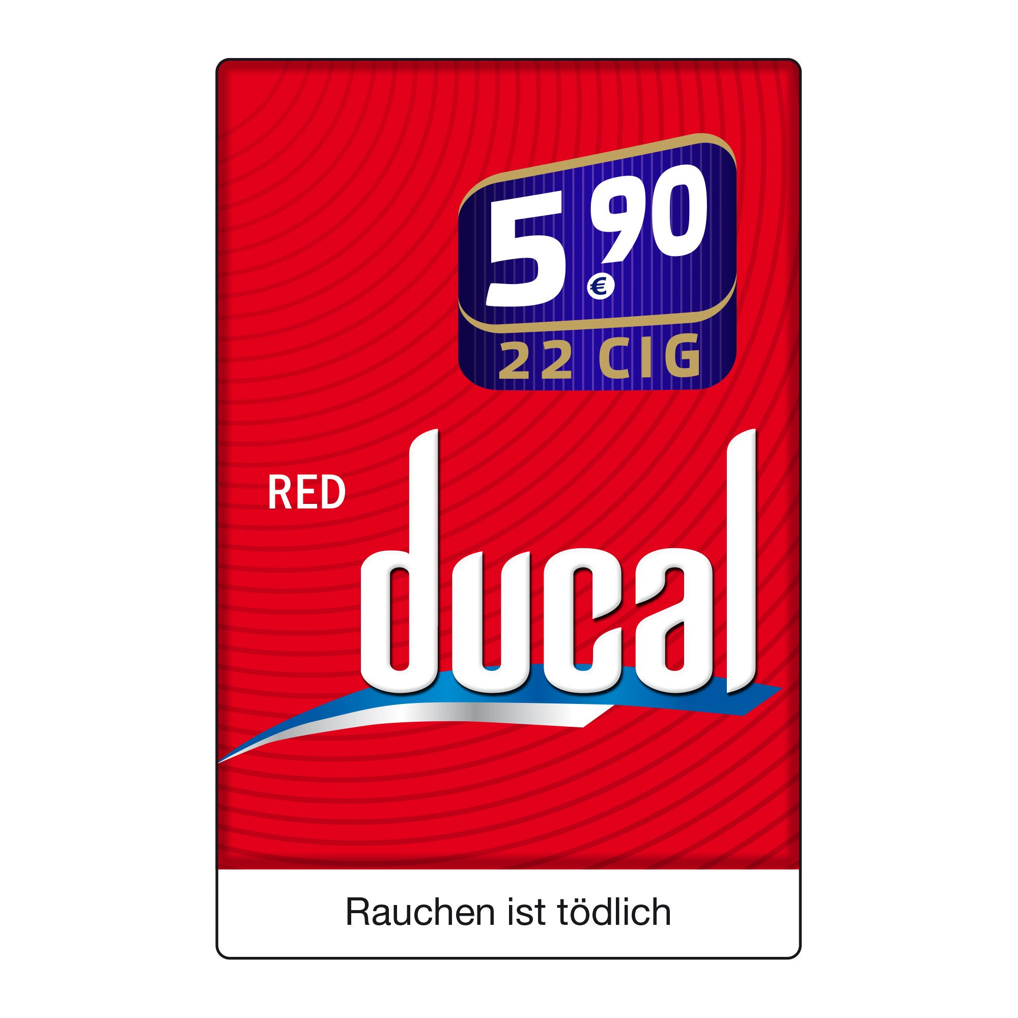 DUCAL Red Big Pack 5,95 Euro (8x22)