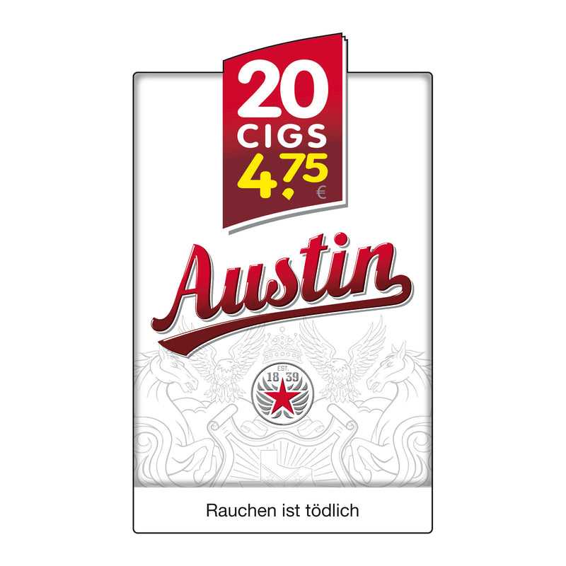 Austin Red (Original Pack) 5,20 Euro (10x20)