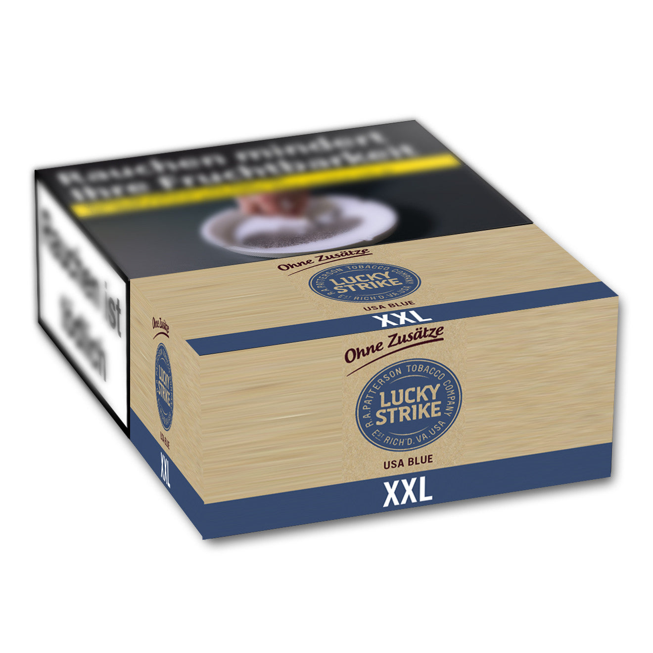 LUCKY STRIKE Authentic Blue XL 7,00 Euro (12X21)