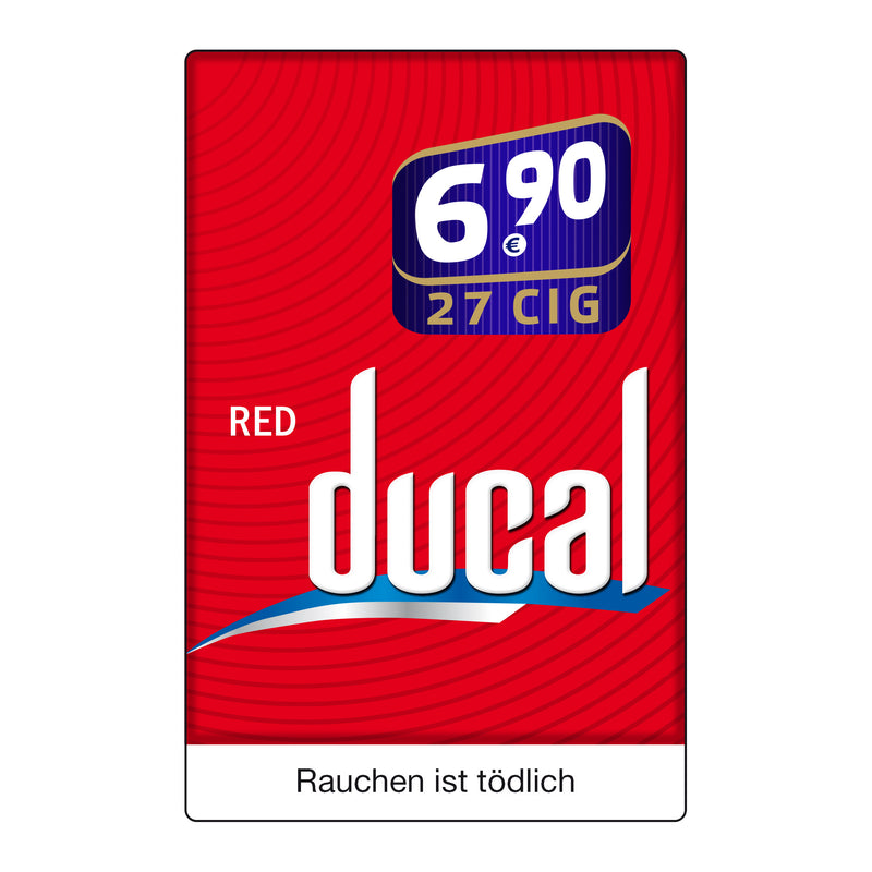 Ducal Red XXL 6,90 Euro (8x26)
