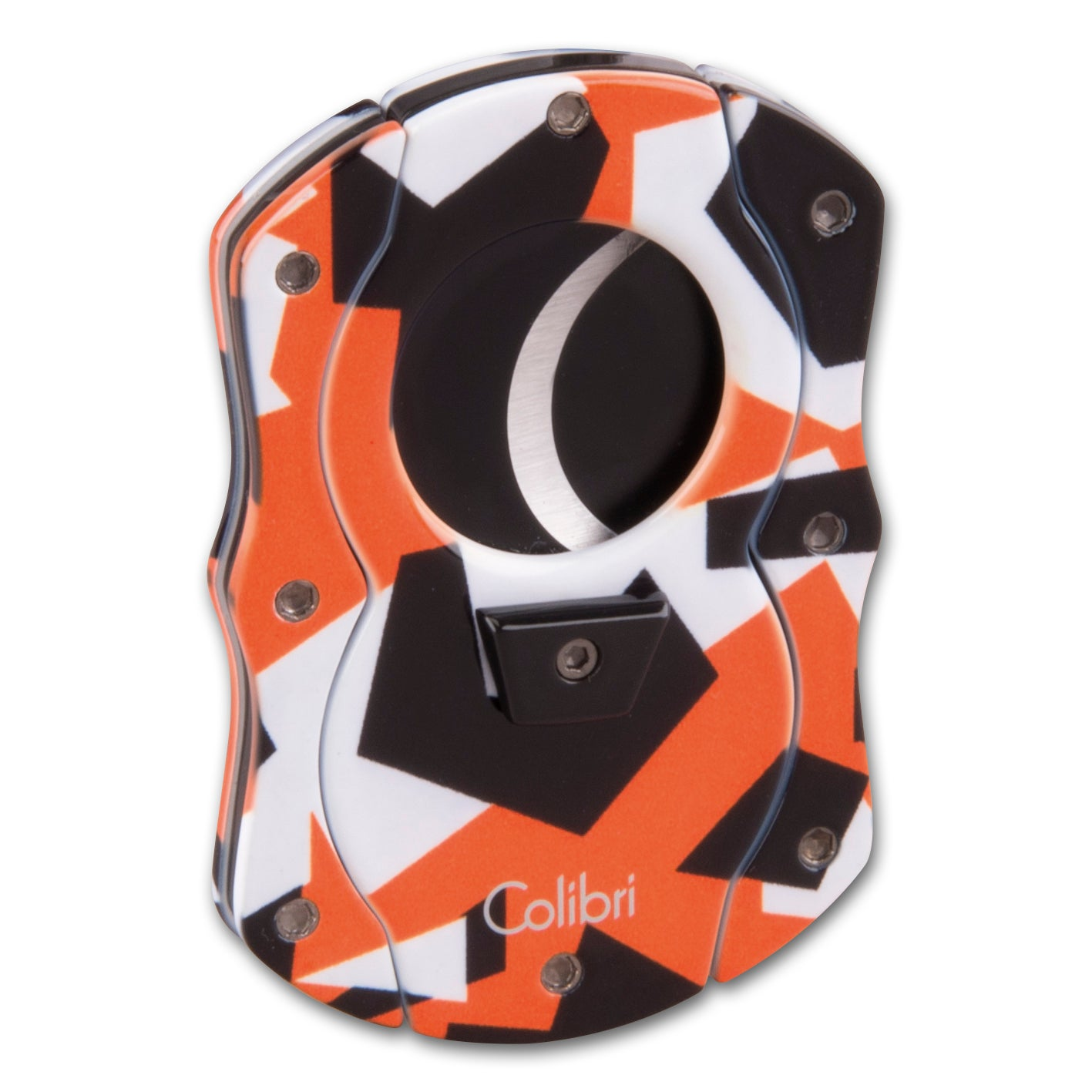 Cigarrenabschneider COLIBRI Cut Camo orange/camouflage 25mm