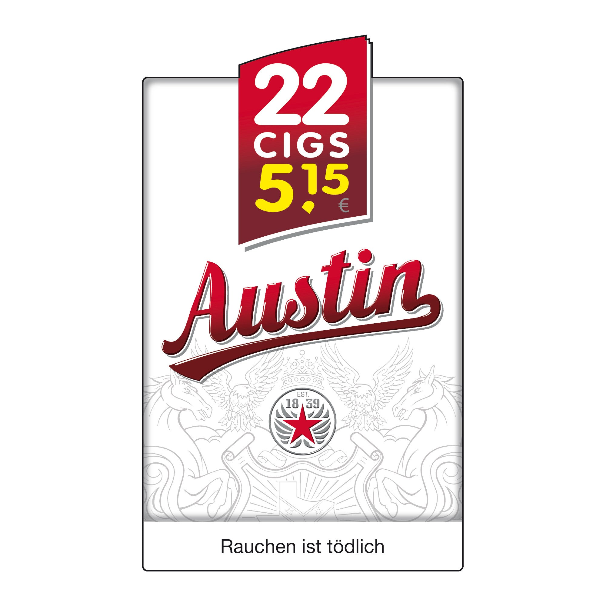 Austin Red Big Pack 5,60 Euro (8x22)