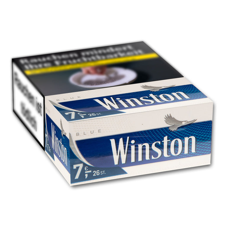 Winston Blue XL-Box 7,00 Euro (8x24)