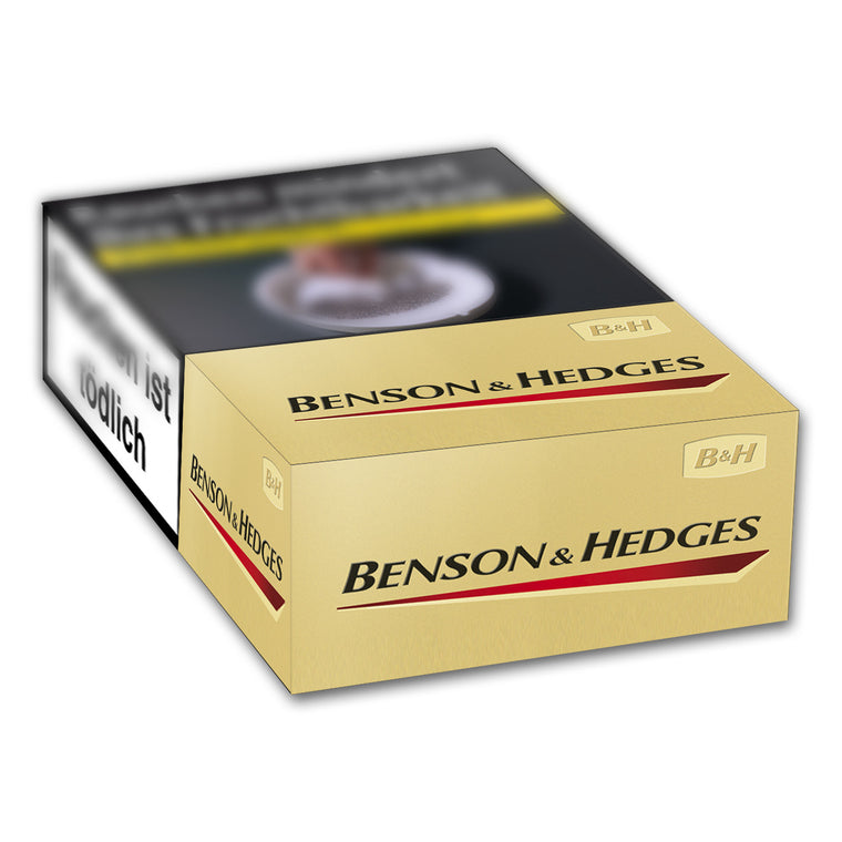 Benson & Hedges Filter Gold 6,40 Euro (10x20)