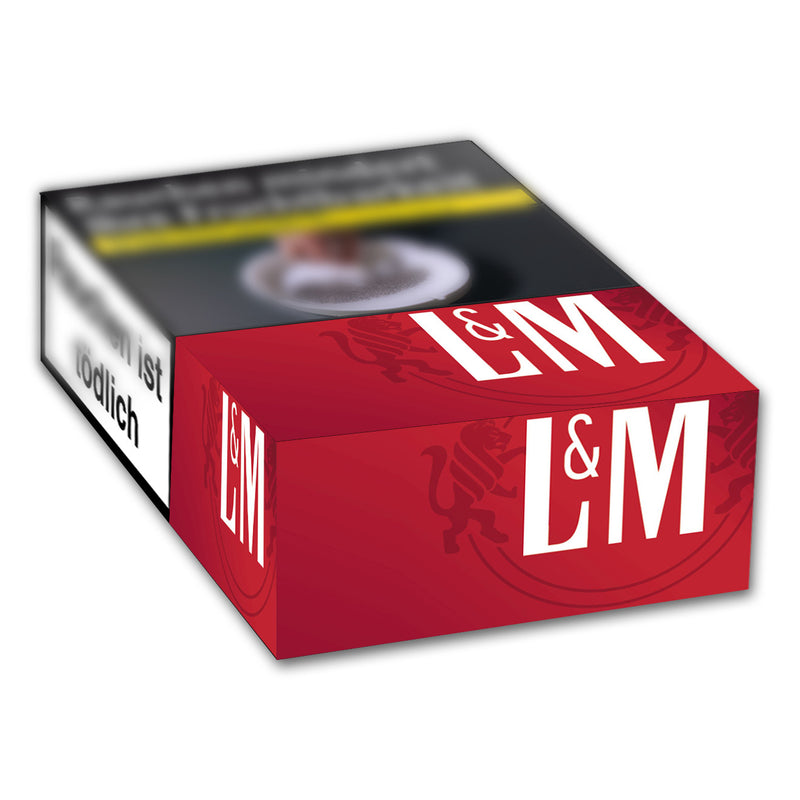 L&M Red Label XL-Box Automatenpackung 7,00 Euro (20x23)