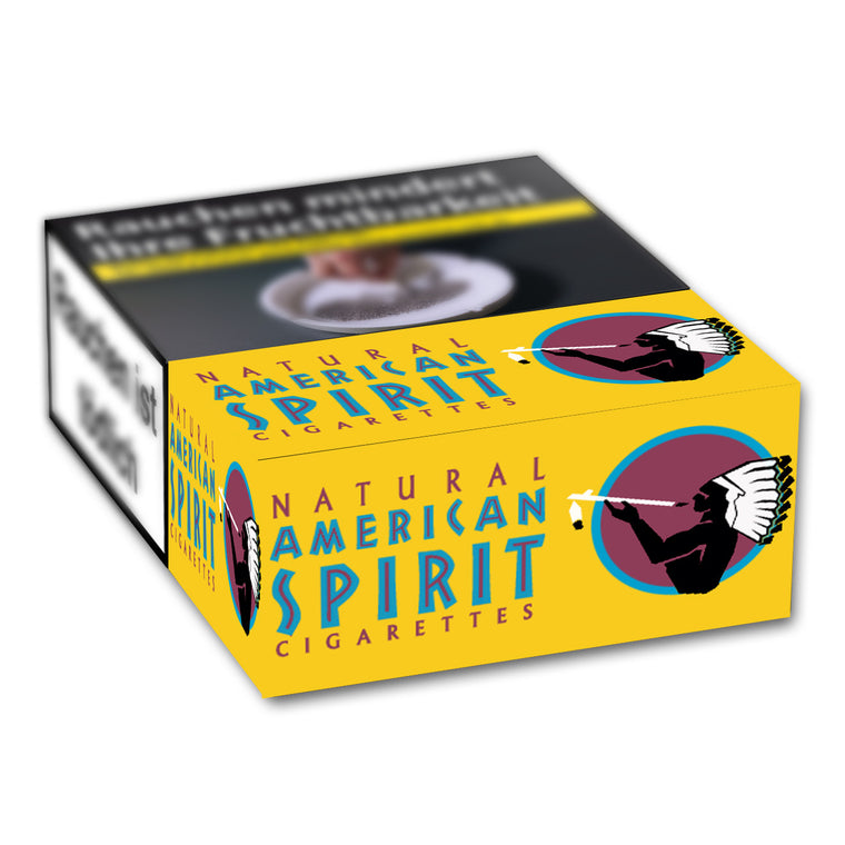 American Spirit Orginal Yellow L-Box 7,00 Euro (10x22)
