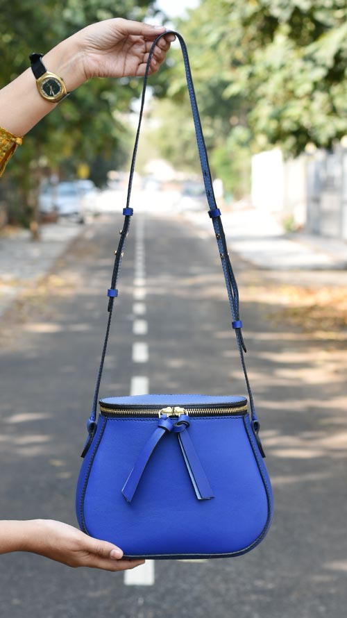 Deep Cobalt Friday Sling