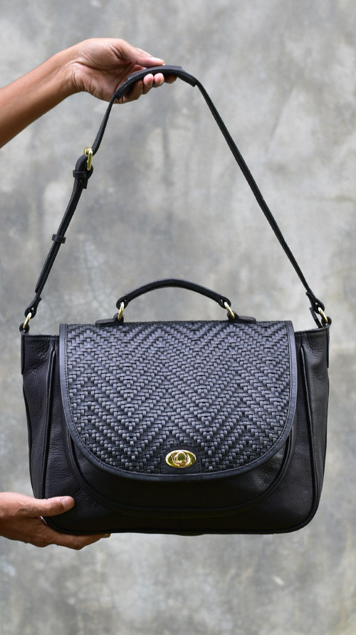 Woven Slate Big Scottie