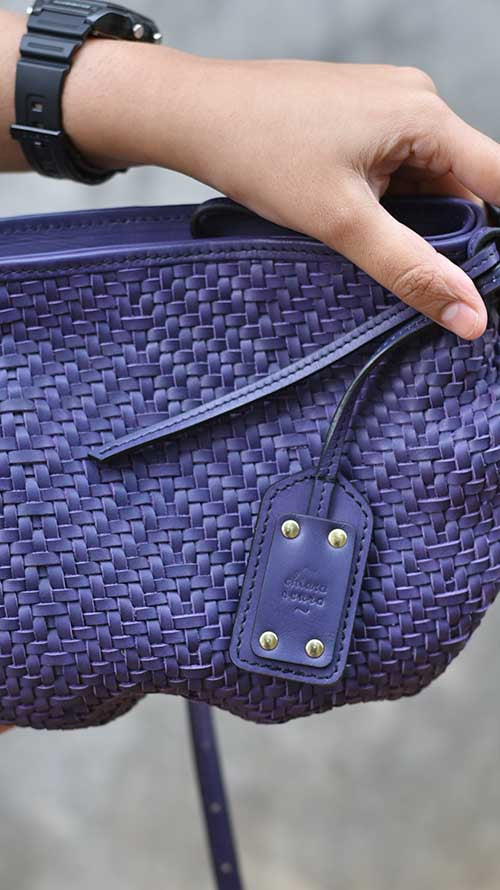 All Woven Jamun Tiny Ana