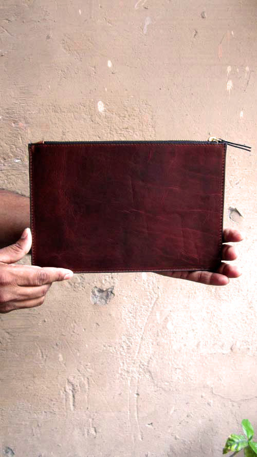 Burnt Sienna Lizzie, Chiaroscuro, India, Pure Leather, Handbag, Bag, Workshop Made, Leather, Bags, Handmade, Artisanal, Leather Work, Leather Workshop, Fashion, Women's Fashion, Women's Accessories, Accessories, Handcrafted, Made In India, Chiaroscuro Bags - 6