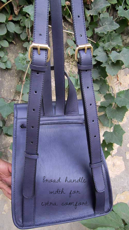 Indigo Bobbie, Chiaroscuro, India, Pure Leather, Handbag, Bag, Workshop Made, Leather, Bags, Handmade, Artisanal, Leather Work, Leather Workshop, Fashion, Women's Fashion, Women's Accessories, Accessories, Handcrafted, Made In India, Chiaroscuro Bags - 7