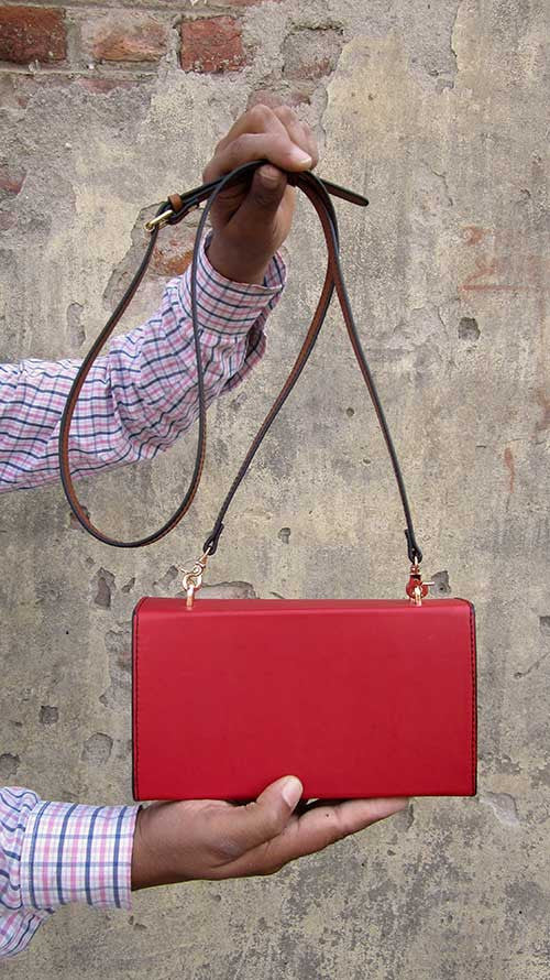 Rose Ellie, Chiaroscuro, India, Pure Leather, Handbag, Bag, Workshop Made, Leather, Bags, Handmade, Artisanal, Leather Work, Leather Workshop, Fashion, Women's Fashion, Women's Accessories, Accessories, Handcrafted, Made In India, Chiaroscuro Bags - 14