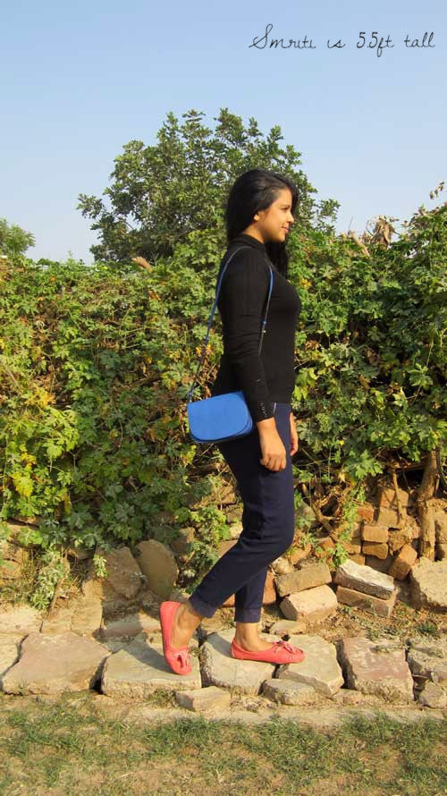 Cobalt Little Stefanie, Chiaroscuro, India, Pure Leather, Handbag, Bag, Workshop Made, Leather, Bags, Handmade, Artisanal, Leather Work, Leather Workshop, Fashion, Women's Fashion, Women's Accessories, Accessories, Handcrafted, Made In India, Chiaroscuro Bags - 3