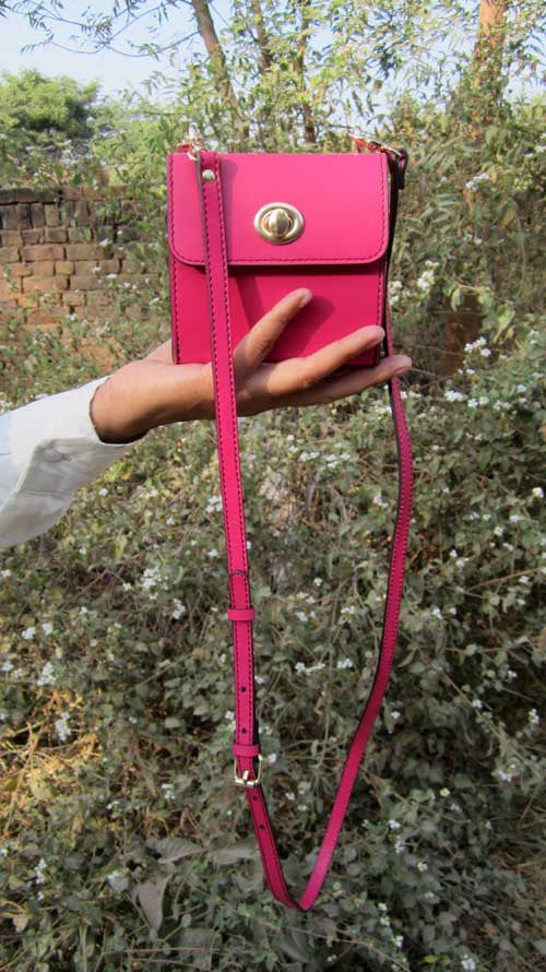 Candy Little Ellie, Chiaroscuro, India, Pure Leather, Handbag, Bag, Workshop Made, Leather, Bags, Handmade, Artisanal, Leather Work, Leather Workshop, Fashion, Women's Fashion, Women's Accessories, Accessories, Handcrafted, Made In India, Chiaroscuro Bags - 5