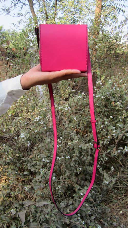 Candy Little Ellie, Chiaroscuro, India, Pure Leather, Handbag, Bag, Workshop Made, Leather, Bags, Handmade, Artisanal, Leather Work, Leather Workshop, Fashion, Women's Fashion, Women's Accessories, Accessories, Handcrafted, Made In India, Chiaroscuro Bags - 7