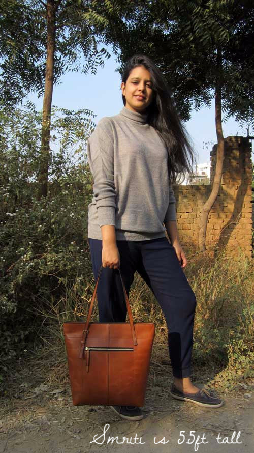 Gingerbread Emma, Chiaroscuro, India, Pure Leather, Handbag, Bag, Workshop Made, Leather, Bags, Handmade, Artisanal, Leather Work, Leather Workshop, Fashion, Women's Fashion, Women's Accessories, Accessories, Handcrafted, Made In India, Chiaroscuro Bags - 1