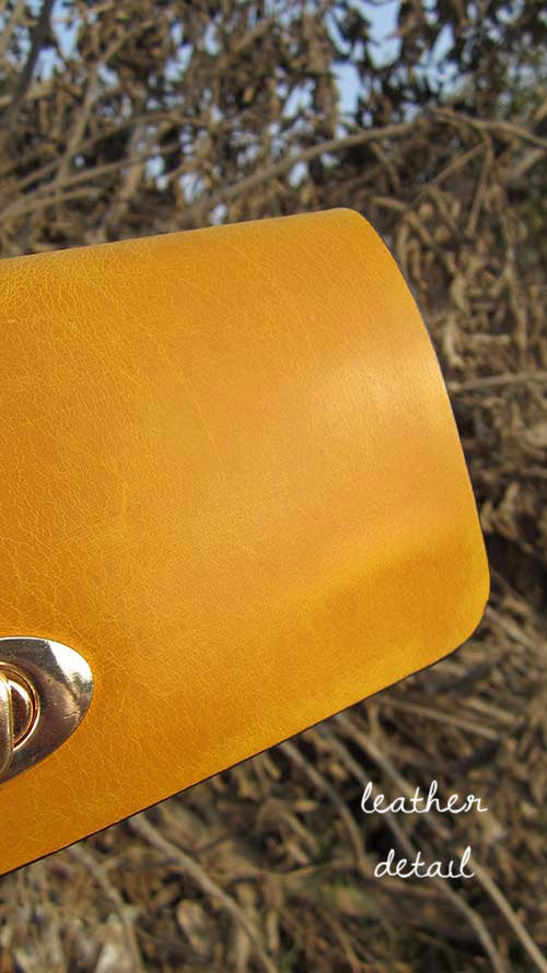 Mustard Michela, Chiaroscuro, India, Pure Leather, Handbag, Bag, Workshop Made, Leather, Bags, Handmade, Artisanal, Leather Work, Leather Workshop, Fashion, Women's Fashion, Women's Accessories, Accessories, Handcrafted, Made In India, Chiaroscuro Bags - 13