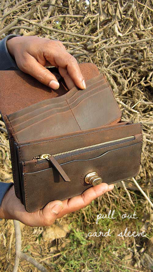 Chestnut Michela, Chiaroscuro, India, Pure Leather, Handbag, Bag, Workshop Made, Leather, Bags, Handmade, Artisanal, Leather Work, Leather Workshop, Fashion, Women's Fashion, Women's Accessories, Accessories, Handcrafted, Made In India, Chiaroscuro Bags - 8