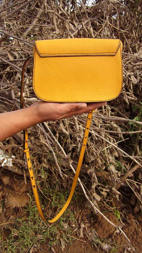 Mango Little Stefanie, Chiaroscuro, India, Pure Leather, Handbag, Bag, Workshop Made, Leather, Bags, Handmade, Artisanal, Leather Work, Leather Workshop, Fashion, Women's Fashion, Women's Accessories, Accessories, Handcrafted, Made In India, Chiaroscuro Bags - 8