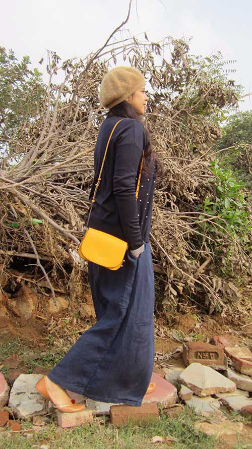 Mango Little Stefanie, Chiaroscuro, India, Pure Leather, Handbag, Bag, Workshop Made, Leather, Bags, Handmade, Artisanal, Leather Work, Leather Workshop, Fashion, Women's Fashion, Women's Accessories, Accessories, Handcrafted, Made In India, Chiaroscuro Bags - 12