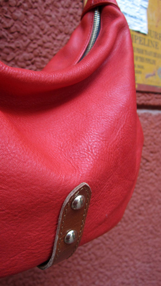 Rose Caro, Chiaroscuro, India, Pure Leather, Handbag, Bag, Workshop Made, Leather, Bags, Handmade, Artisanal, Leather Work, Leather Workshop, Fashion, Women's Fashion, Women's Accessories, Accessories, Handcrafted, Made In India, Chiaroscuro Bags - 6