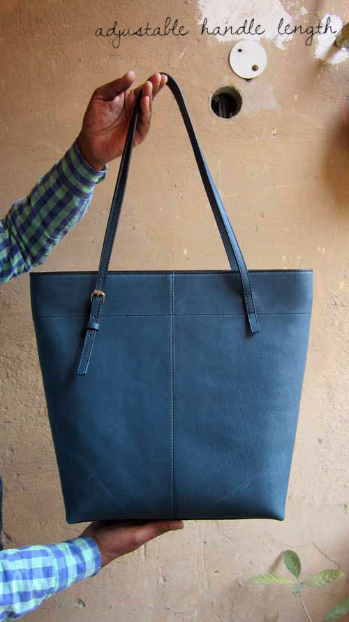 Ocean Emma, Chiaroscuro, India, Pure Leather, Handbag, Bag, Workshop Made, Leather, Bags, Handmade, Artisanal, Leather Work, Leather Workshop, Fashion, Women's Fashion, Women's Accessories, Accessories, Handcrafted, Made In India, Chiaroscuro Bags - 3
