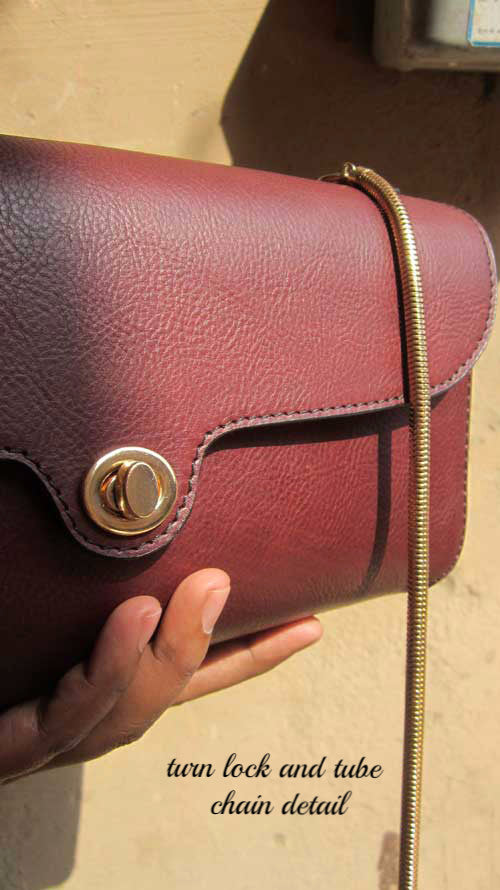 Raisin Gabriella, Chiaroscuro, India, Pure Leather, Handbag, Bag, Workshop Made, Leather, Bags, Handmade, Artisanal, Leather Work, Leather Workshop, Fashion, Women's Fashion, Women's Accessories, Accessories, Handcrafted, Made In India, Chiaroscuro Bags - 5