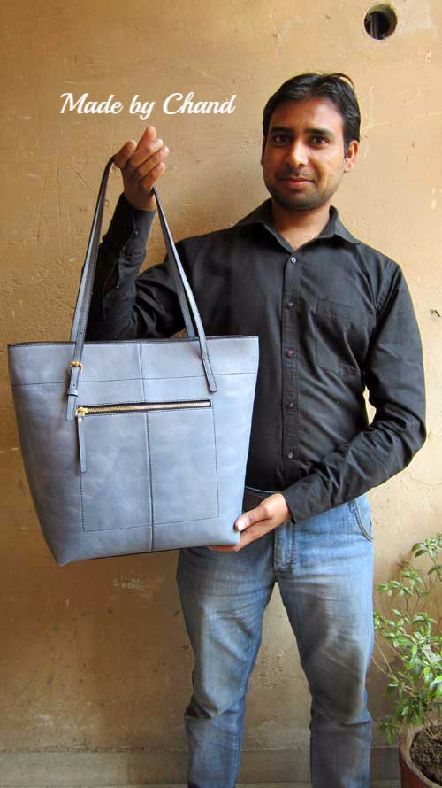 Sky Emma, Chiaroscuro, India, Pure Leather, Handbag, Bag, Workshop Made, Leather, Bags, Handmade, Artisanal, Leather Work, Leather Workshop, Fashion, Women's Fashion, Women's Accessories, Accessories, Handcrafted, Made In India, Chiaroscuro Bags - 14