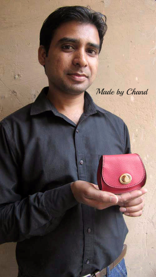 Cranberry Nicola, Chiaroscuro, India, Pure Leather, Handbag, Bag, Workshop Made, Leather, Bags, Handmade, Artisanal, Leather Work, Leather Workshop, Fashion, Women's Fashion, Women's Accessories, Accessories, Handcrafted, Made In India, Chiaroscuro Bags - 5