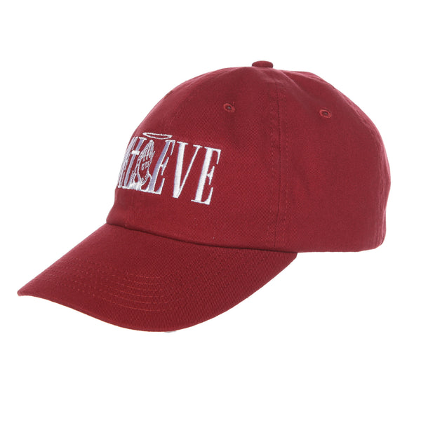 Believe Dad Hat (Cardinal)