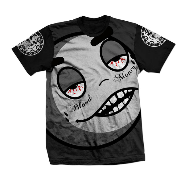 Blood Money Sublimated Tee (Black)
