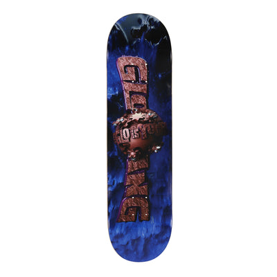 The Glo Is Yours 3D Skate Deck