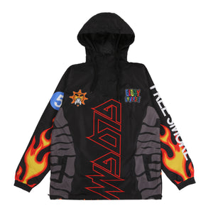 Sublimation Windbreaker (Black)