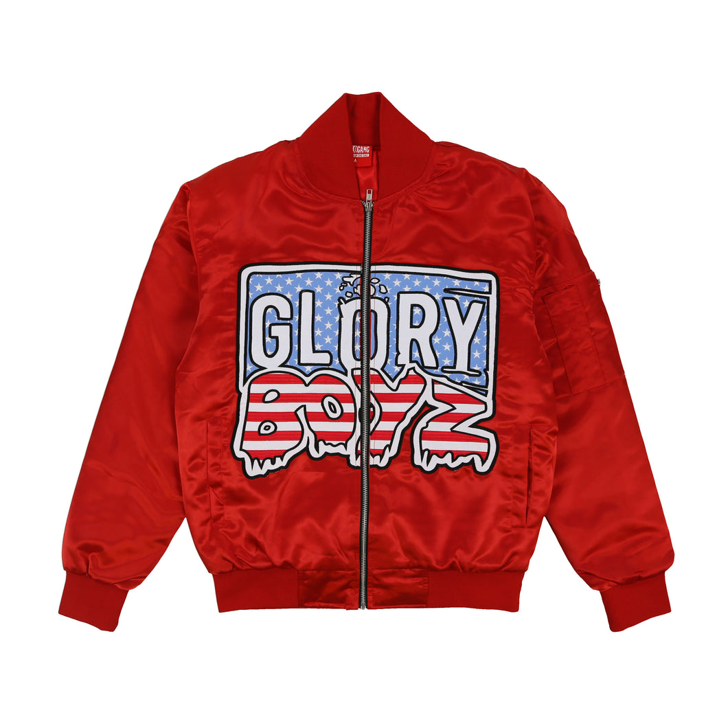 Glory Boyz Bomber (Red)
