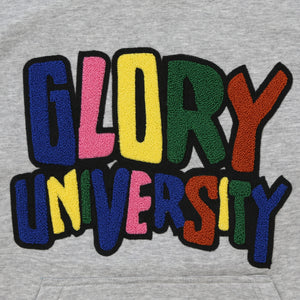 Glory University Chenille Primary Hoodie (Grey)
